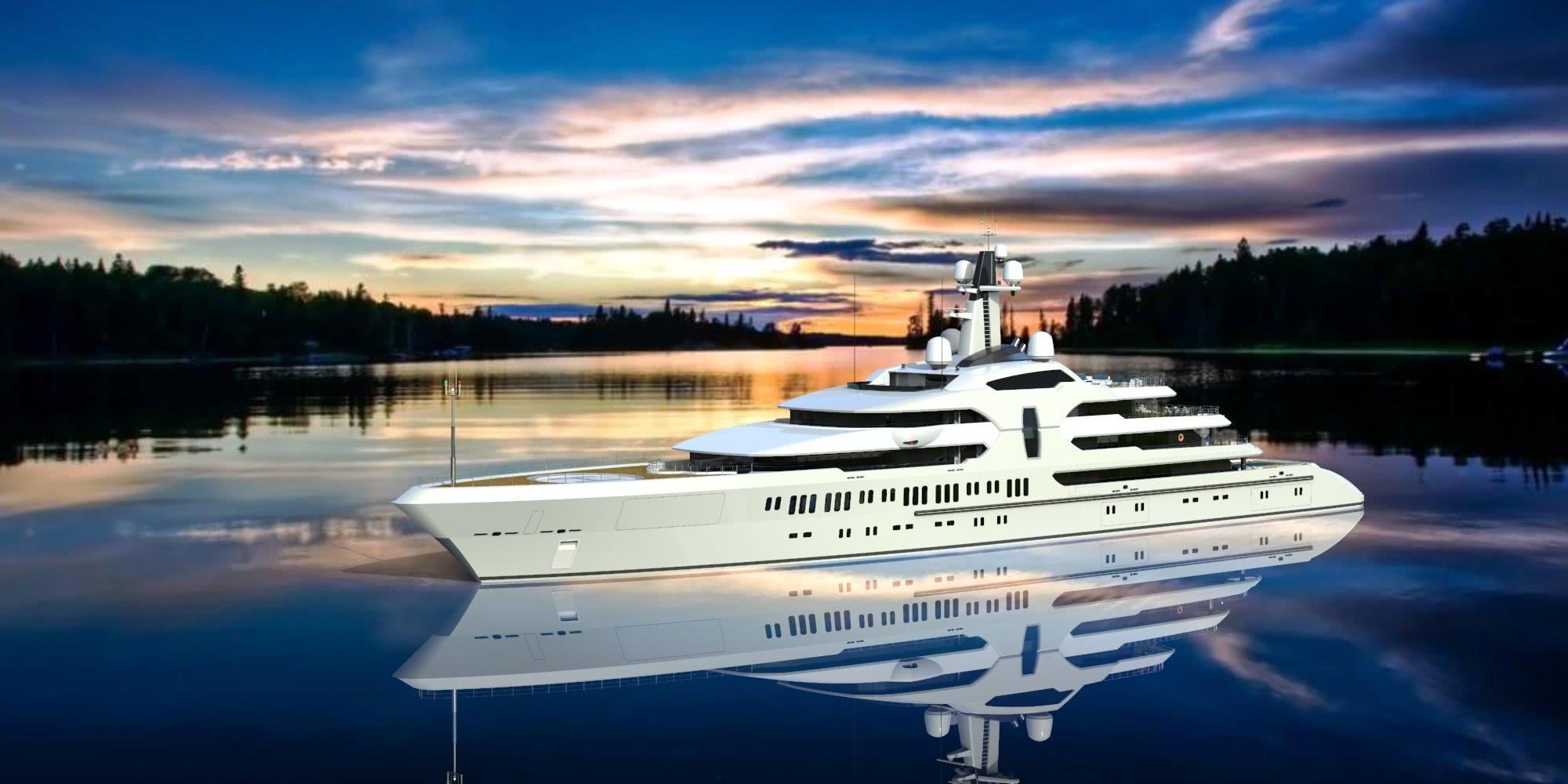 120m Gigayacht
