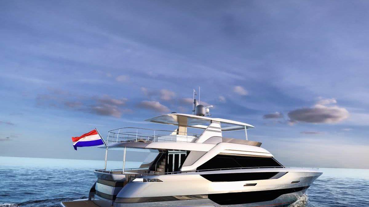 24m Flybridge Yacht Van der Valk