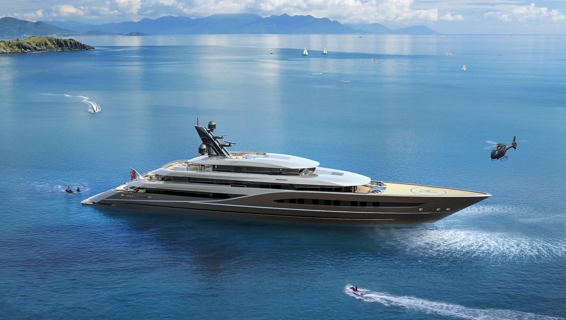 Atlantico Marco Ferrari Yacht Design