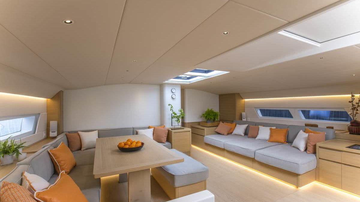 Karma Sailing Yacht Interior