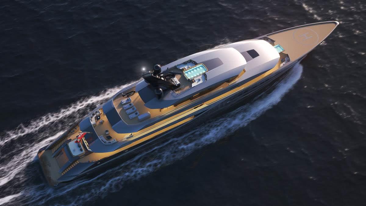 Atlantico Yacht Marco Ferrari