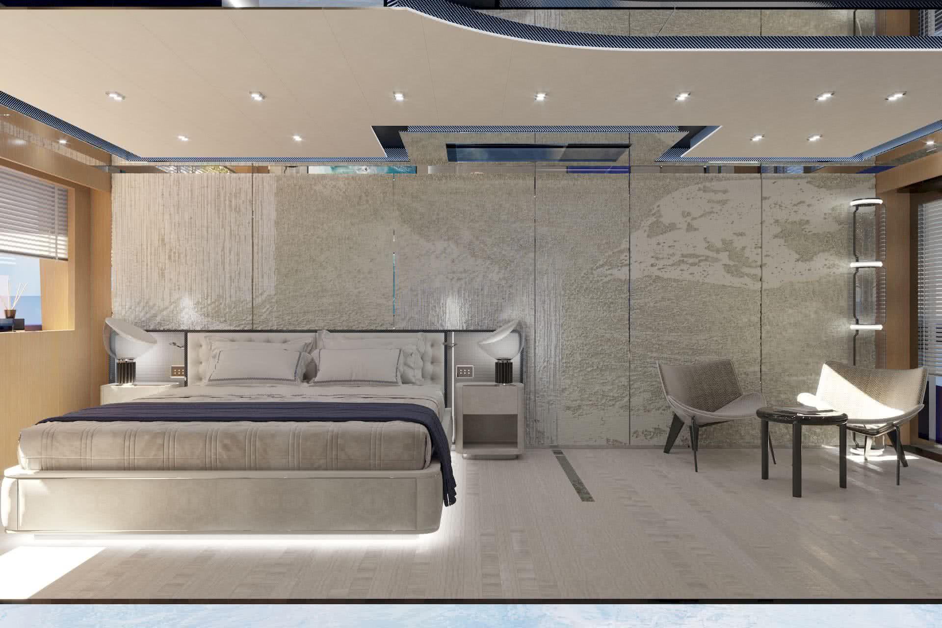 ISA GT 45 Interior Design Luca Dini