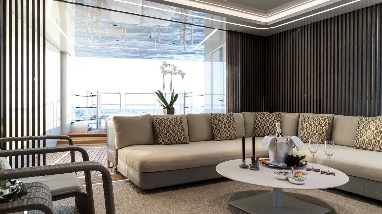 Metis Yacht Interior Benetti