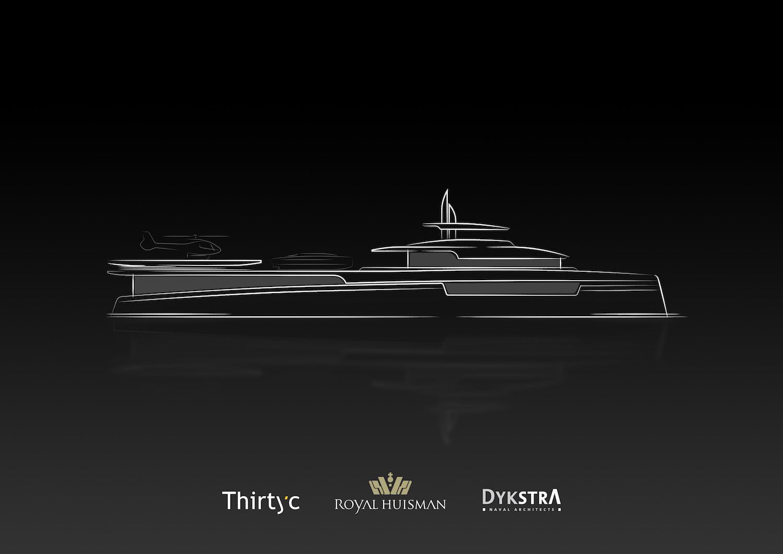 Lotus Royal Huisman DynaRig Support Vessel
