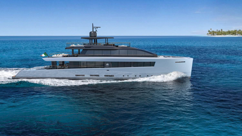 Abaco Baglietto Santa Maria Magnolfi Motor Yacht