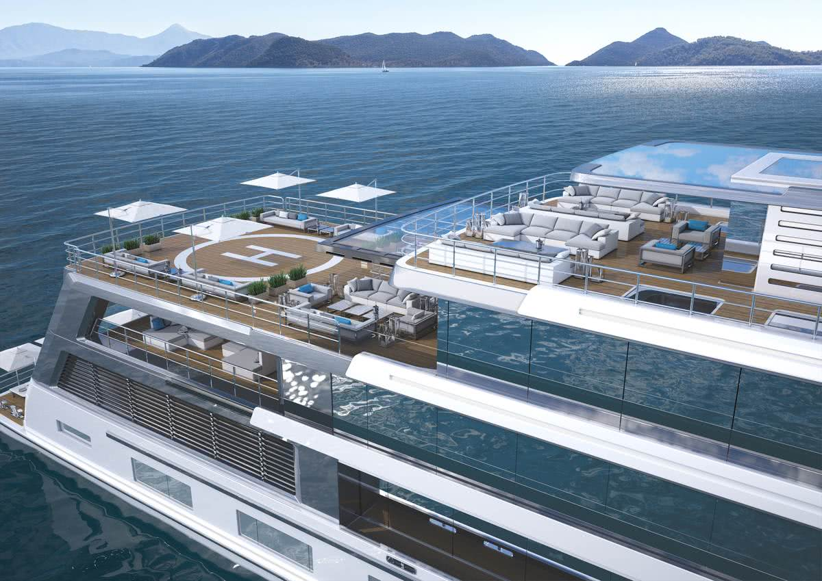 80m Hybrid Explorer Yacht Gill Schmid Design