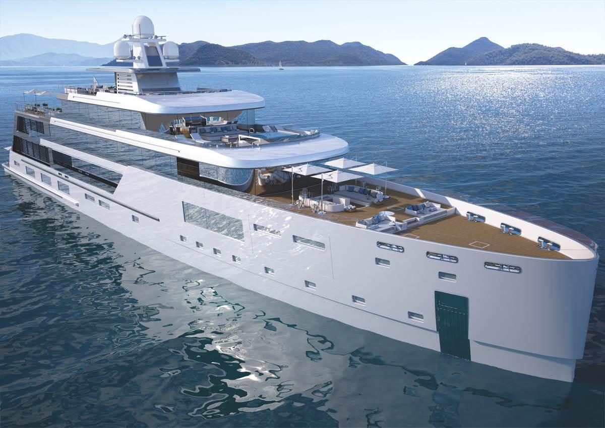 80m Hybrid Explorer Yacht Gill Schmid Design Dörries Yachts
