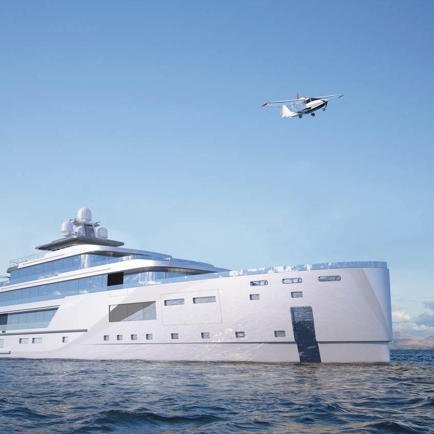80m Hybrid Explorer Yacht Gill Schmid Design Tim Dempers Studio