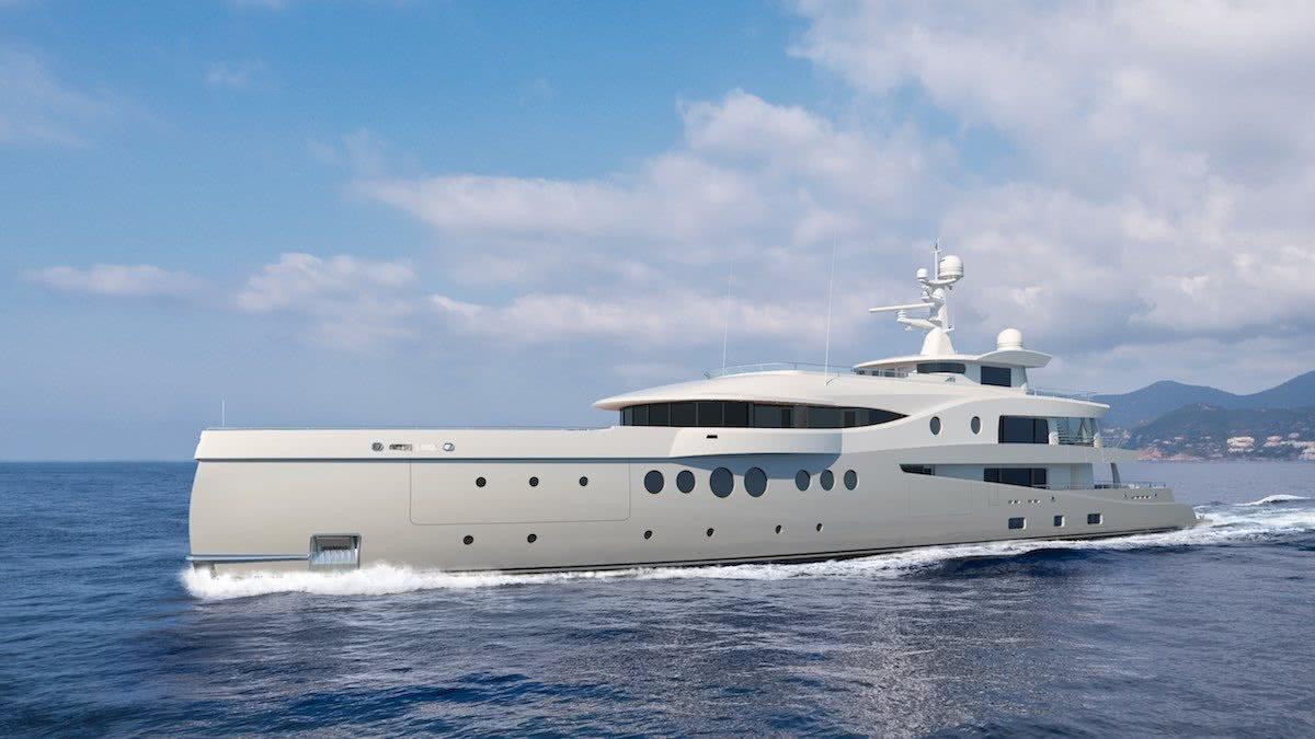 Amels 206 Motor Yacht Tim Heywood