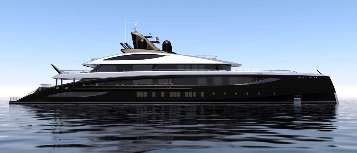 Black Shark Yacht Nobiskrug Winch Design