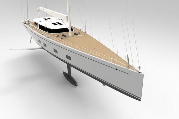 Canova Sailing Yacht DSS Foil Farr Yacht Design