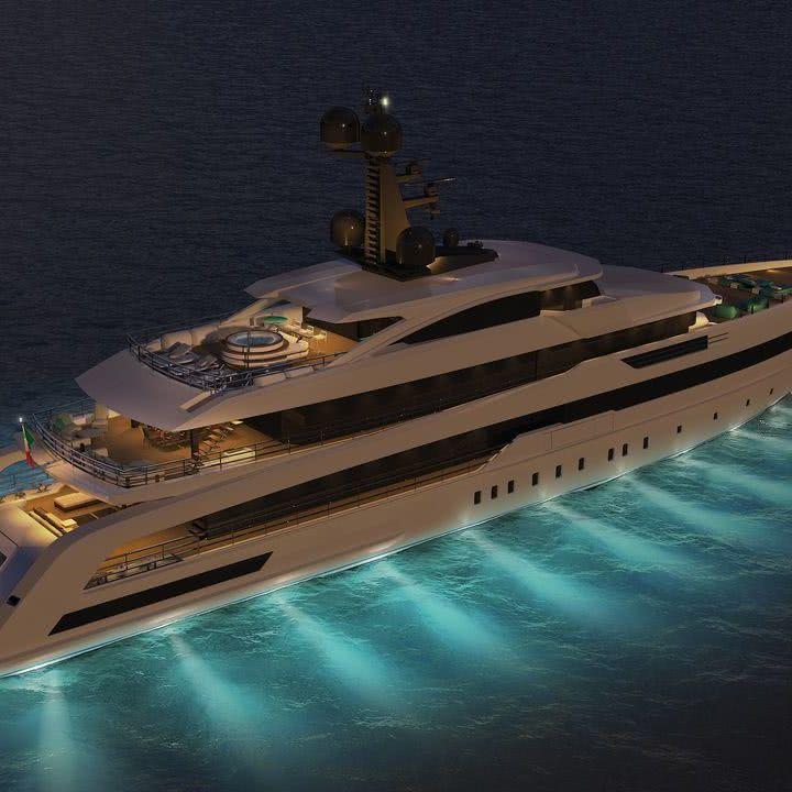 CRN 138 Yacht