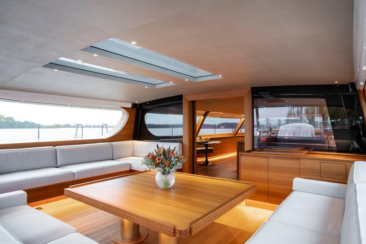 Canova Yacht Interior
