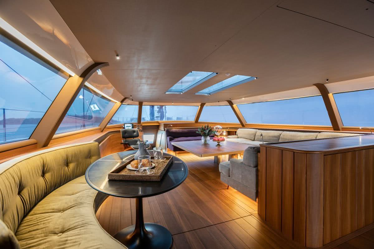 Canova Yacht Interior Lucio Micheletti