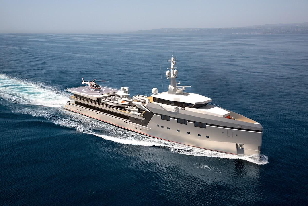 Damen Yacht Support 7512