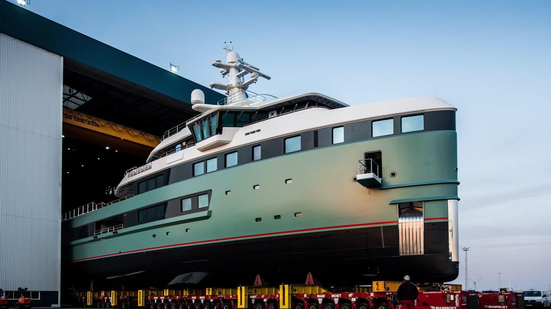 Damen SeaXplorer 62m Azure Yacht Design