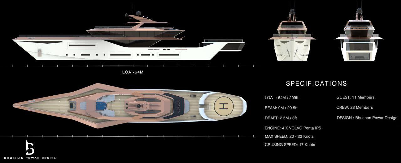 Glauca Yacht Bushan Powar
