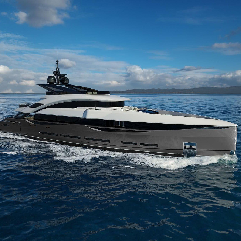 ISA GT 45 Yacht Enrico Gobbi