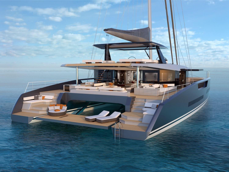 Royal Huisman Sailing Catamaran