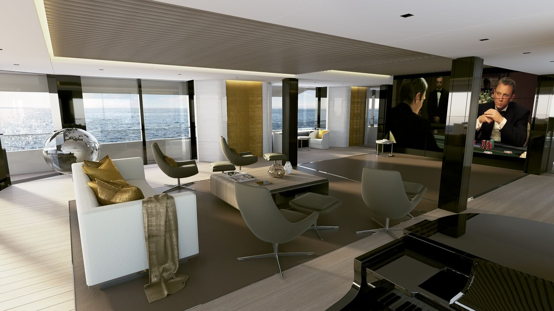 Starlight Yacht Darnet Design Interior