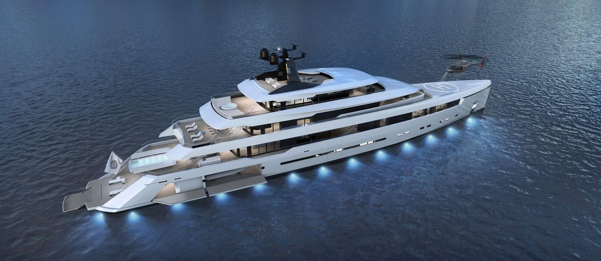Starlight Yacht Darnet Design