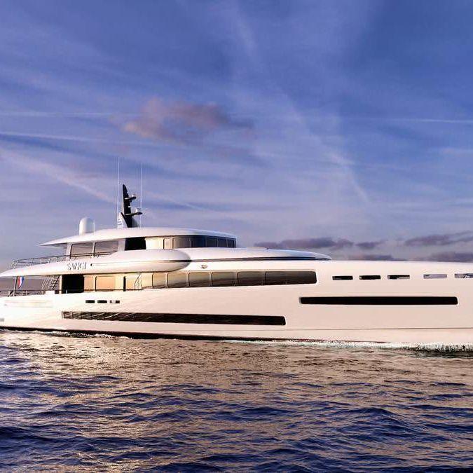 Sangi Royal Huisman Motor Yacht