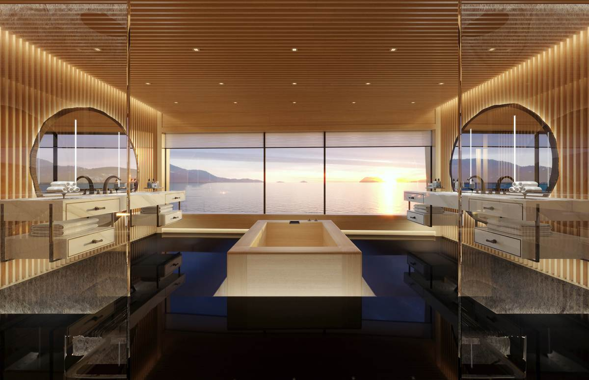 AQUA Fuel Cell Yacht Sinot Interior