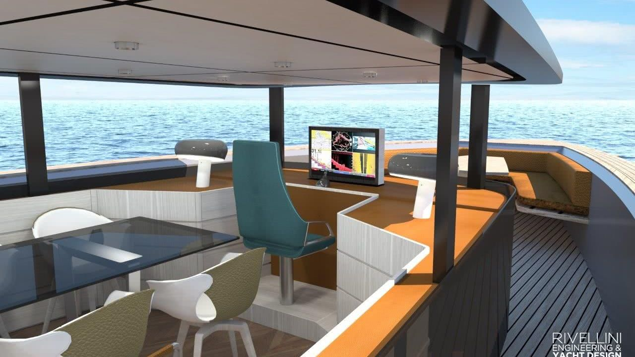 Vellar 70 Yacht Interior
