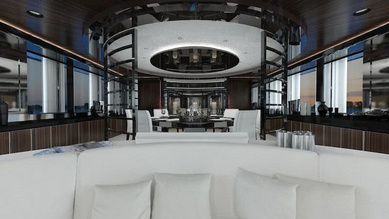My Sky Yacht Interior Heesen Yachts