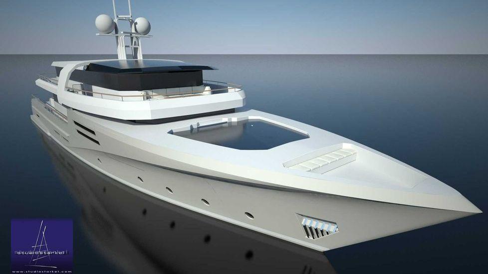 Diesel-Electric Yacht Fifth Ocean Yachts