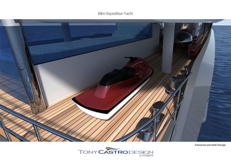 70m Explorer Yacht Tony Castro
