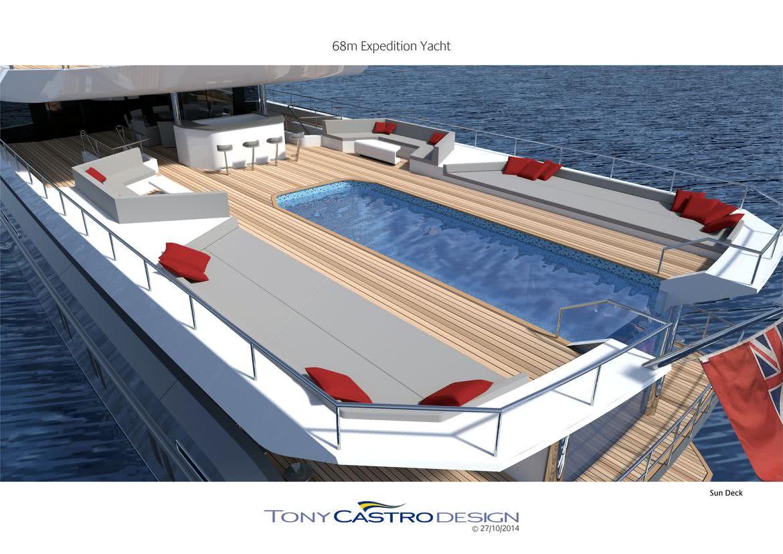 70m Explorer Yacht Tony Castro Pool
