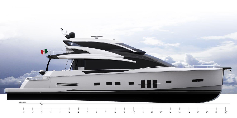 Adler Suprema X Motor Yacht Skylounge