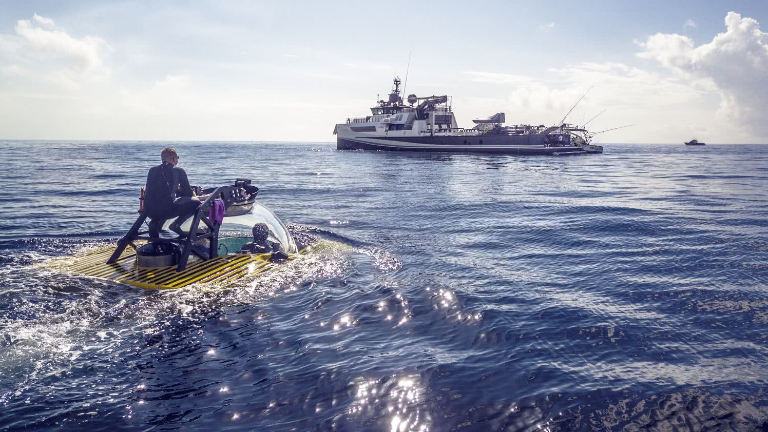 AXIS Damen Yacht Support Vessel