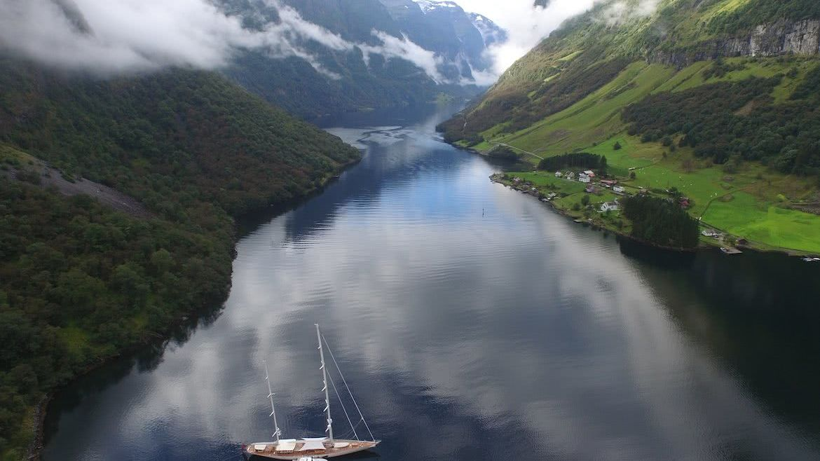 Adele Sailing Yacht in Norway