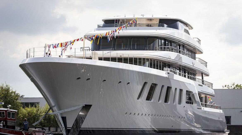 Aquarius Yacht Feadship