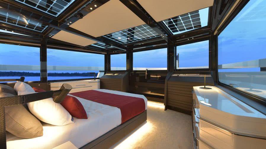 Arcadia 100 Motor Yacht Interior