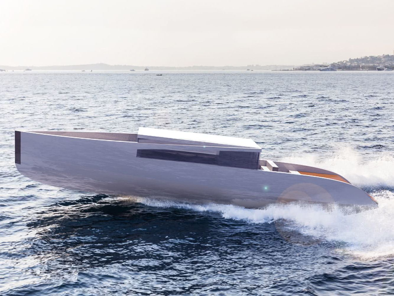 Ardea Alba Tender Timothy Baldacci Yacht Design