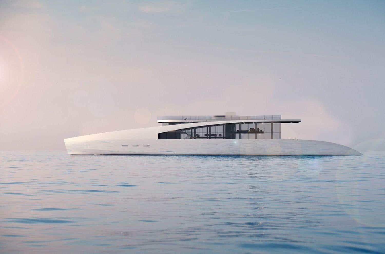 Ardea Alba Timothy Baldacci Yacht Design