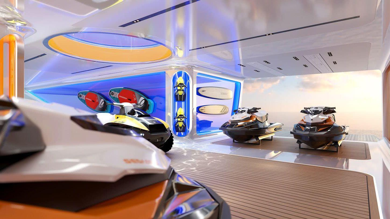 Art of Life Sinot Yacht Design Interior