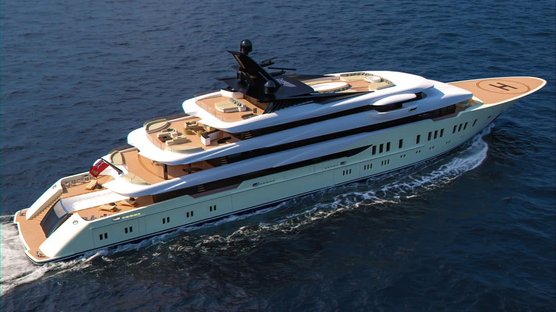 Atlas Motor Yacht Design Marco Ferrari Alberto Franchi