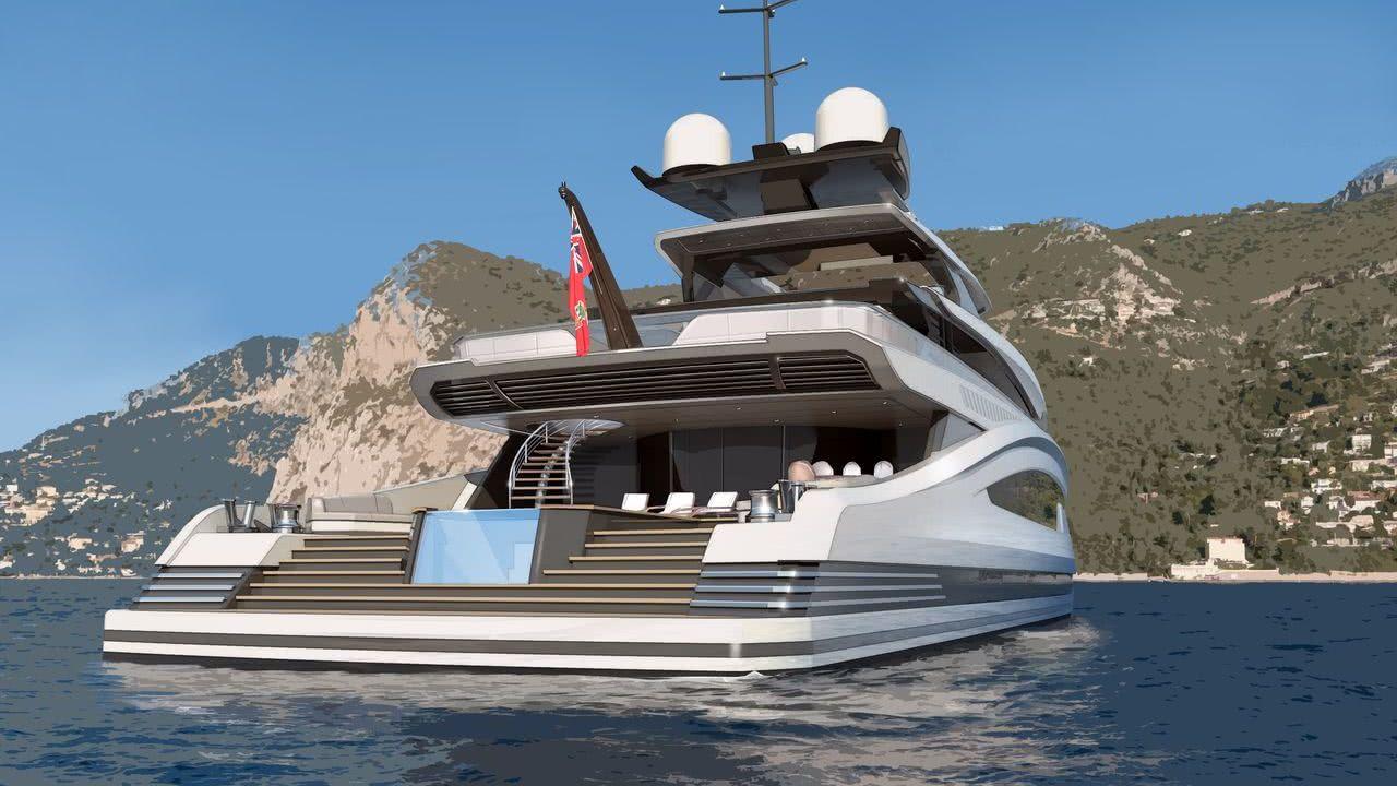 Avanti Heesen Yachts Motor Yacht Design