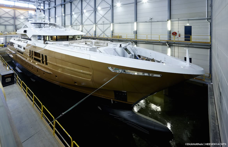 Azamanta Yacht Heesen Yachts