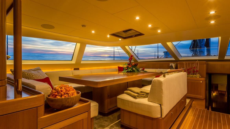 Doryan Yacht Interior Baltic Yachts