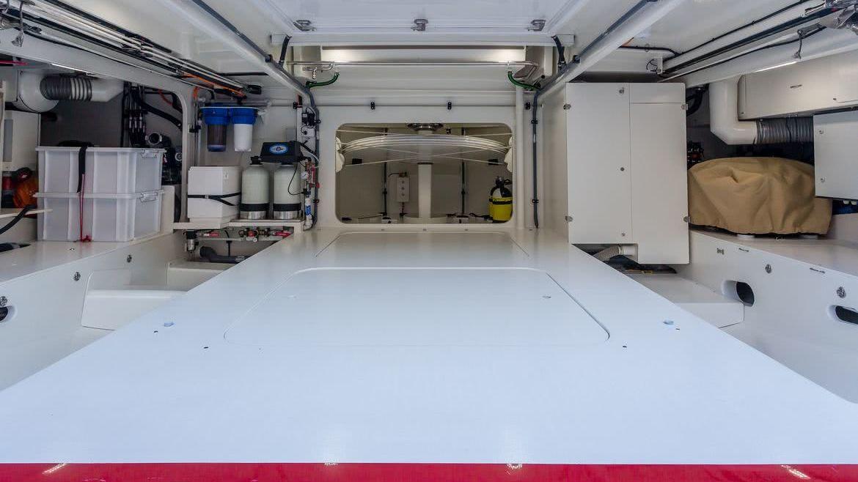 Doryan Yacht Baltic Yachts Tender Garage