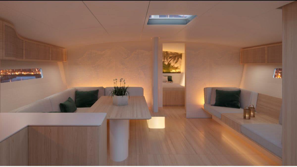 Baltic 68 Cafe Racer Interior Design