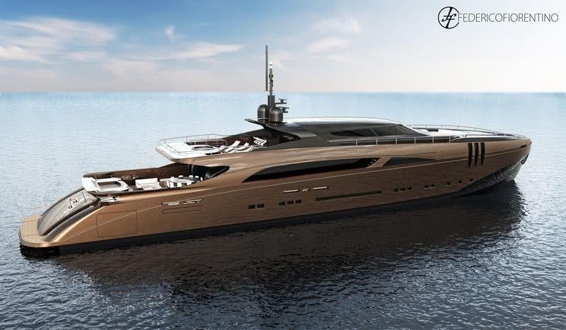 Belafonte Yacht Federico Fiorentino Yacht Design
