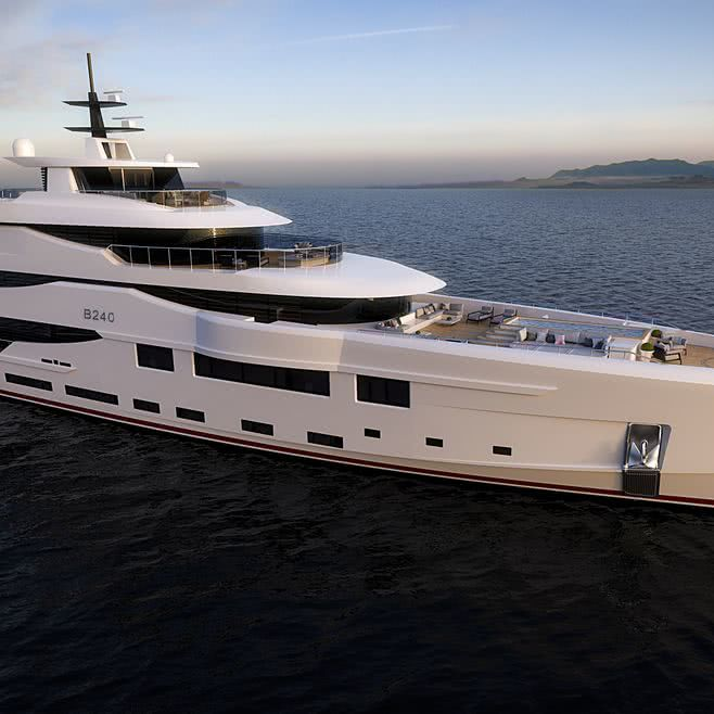 Benetti Now B240 Olympus Motor Yacht