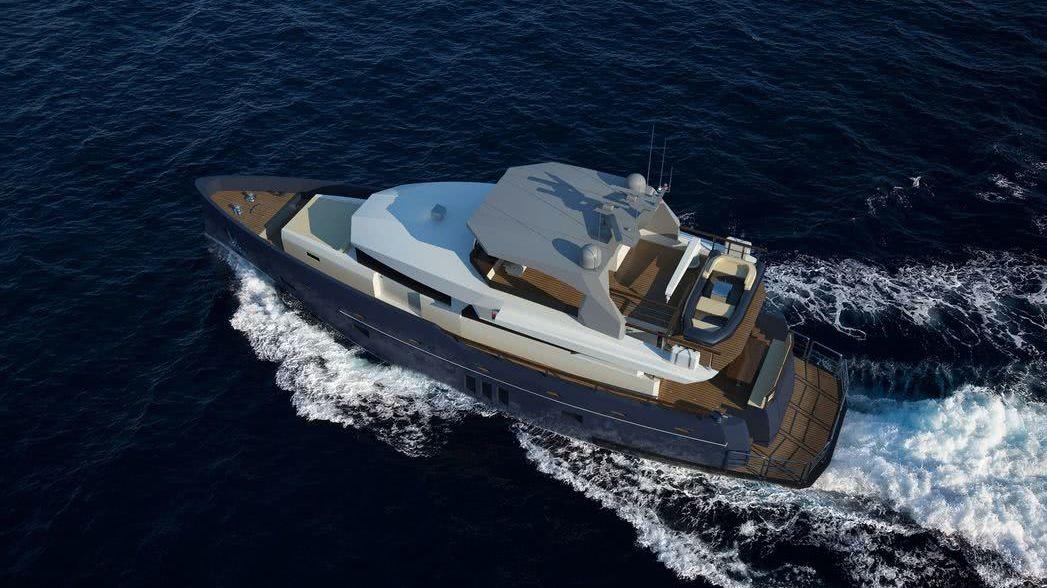 Bering Yachts 85