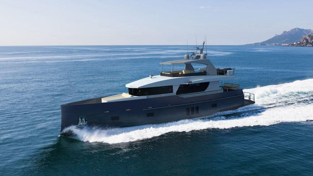 Bering 85 Yacht